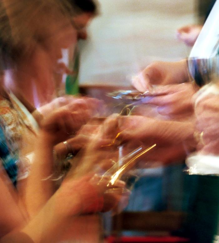 serving blurred II